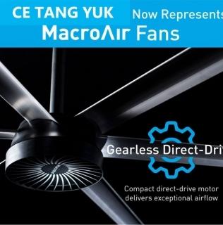 CE Tang Yuk NOW Represents MacroAir HVLS Fans